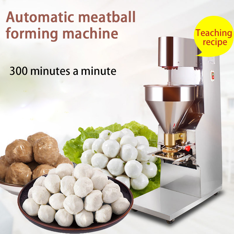 Fully automatic commercial meatball forming machine pork ball / beef ball / fish ball maker YC 605