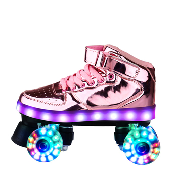 flash-skates-4-wheel-pu-roller-blade-for-adult-kids-usb-recharge-sneakers-roller-skates-hockey-double-row-pulley-shoes-men-women