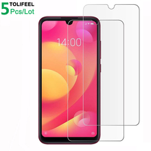 5Pcs Tempered Glass For Xiaomi Mi Play Screen Protector 9H 2.5D Phone On Film Protective Glass For Xiaomi Mi Play Glass