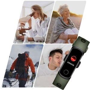 Image 2 - Смарт браслет Honor Band 5i, фитнес браслет с USB зарядкой, управлением музыкой, мониторингом кислорода в крови, для бега