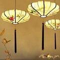 Ретро китайский стиль дзен античный светодиодный Люстра Ресторан гостиная Чайный домик креативный подвесной светильник Классический свет...