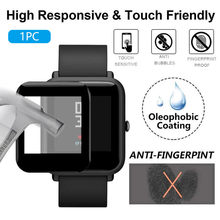 1/2/3PC Clear Ultra Film Tempered PET Screen Protector for AMAZFIT bip Smart watch Accessories Protective shell flim for AMAZFIT(China)