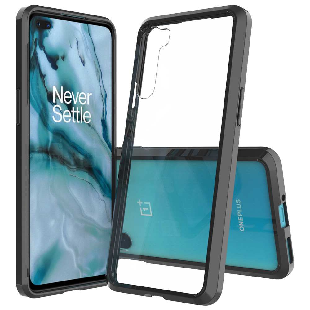 Прозрачный чехол для Oneplus Nord Z, мягкий ТПУ + жесткий чехол для телефона из поликарбоната, искусственная подушка, чехол для OnePlus 8 NORD гибридная П...