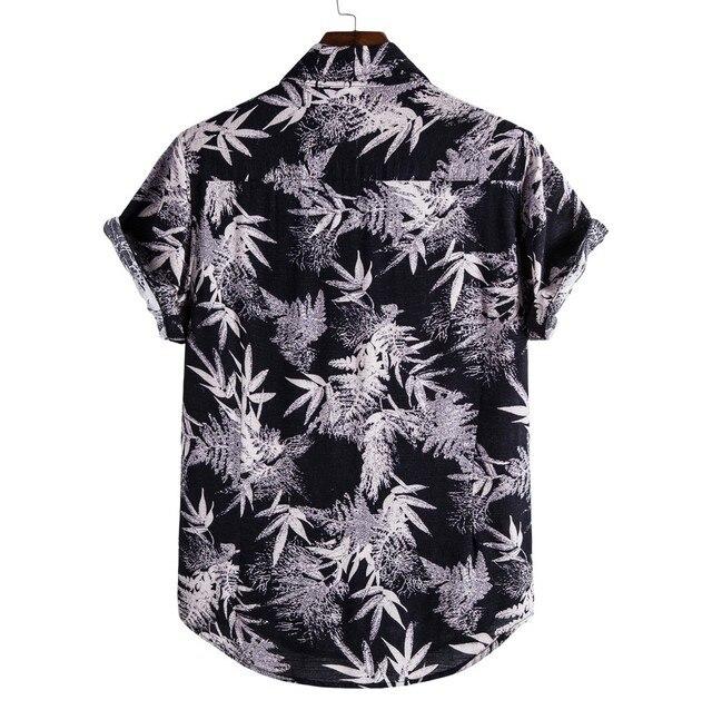 Black White Men's Shirt Men T-shirts / Shirts color: A