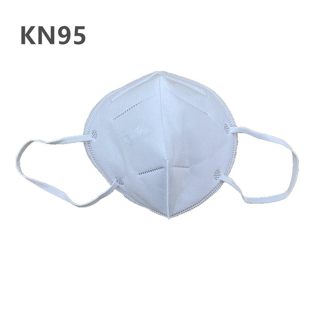 1PCS KN95 Face Mouth Masks Non Woven Anti-Dust Earloops Masks KN95 Half Face Mask Anti-Influenza