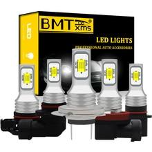 BMTxms Canbus светодиодный ные DRL Противотуманные фары H8 H11 H7 H1 H3 H16 5202 HB4 9005 HB3 H10 P13W PSX24W PSX26W h27 h27w/1 881 h27w1 h27w2 h27w/2