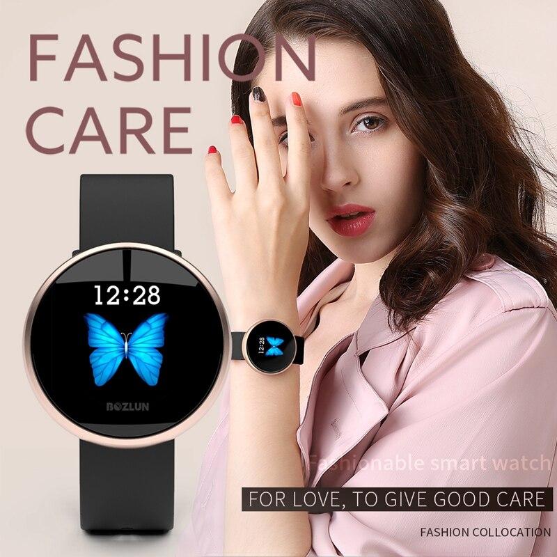SKMEI B36 femmes nouveau Smart 12 langues montre numérique femme russe rappel fréquence cardiaque montres calories étape beauté montre-bracelet