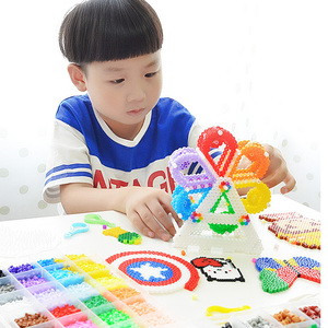 Image 3 - 5MM hama Beads , 12,000 pcs Multicolor Fuse Beads Kit for Kids Crafts, Fuse Beads  learning toys for children