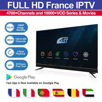 IPTV Subscription World French Arabic 4700+ Live 10000+ VOD Code Link Channel List Android Box MAG 25X Smart TV M3U