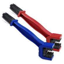 2x Motorcycle Bicycle Cycling Chain Brush Cleaner Cleaning Tool cycling chain crankset cleaning brush