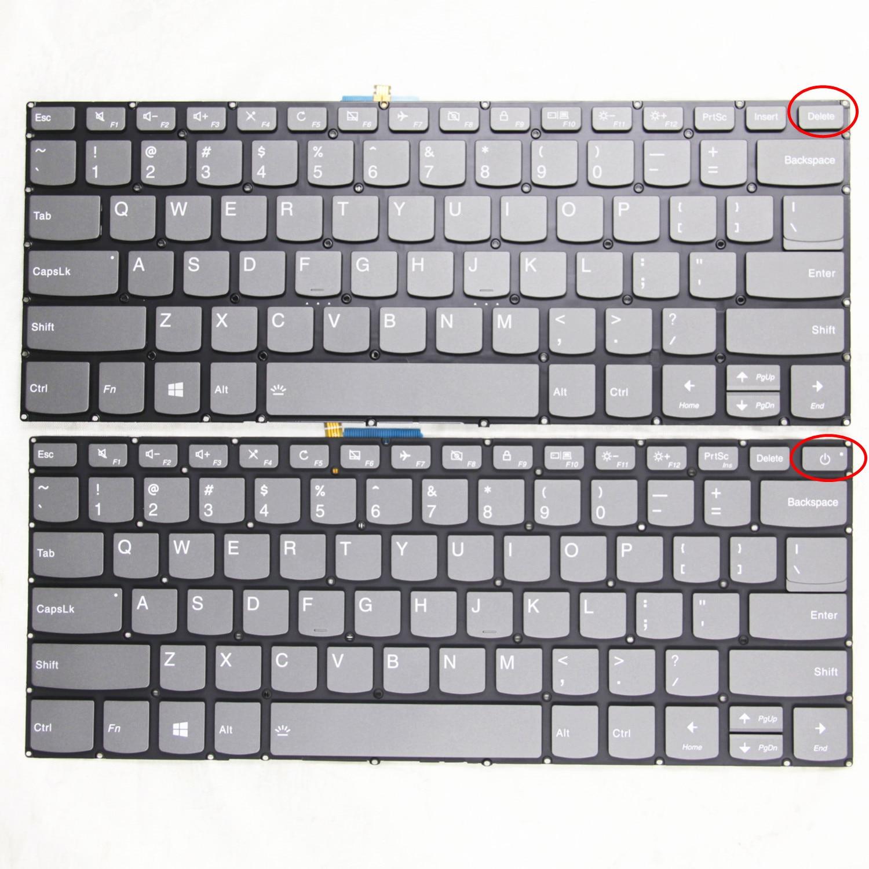 Нам оригинальные новые для Lenovo S145-14 S340-14 320S-15IKB V130-14 E43-80 Йог 520-14 V330-14 720-15 ноутбук клавиатура с подсветкой
