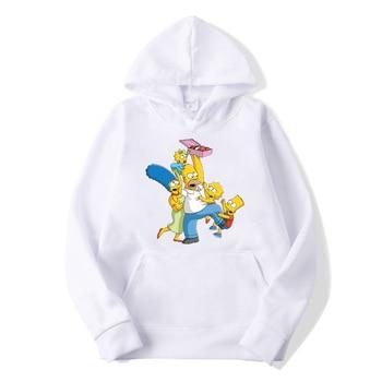 Cute Casual The Simpsons hoodie Sweatshirt Top for Mens/Womens 1