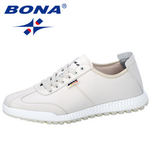 BONA 2019 New Style Vulcanize Shoes Men Sneakers Casual No Slip Men  Lace Up Wear Resistant Shoes Tenis Masculino Leisure Shoes