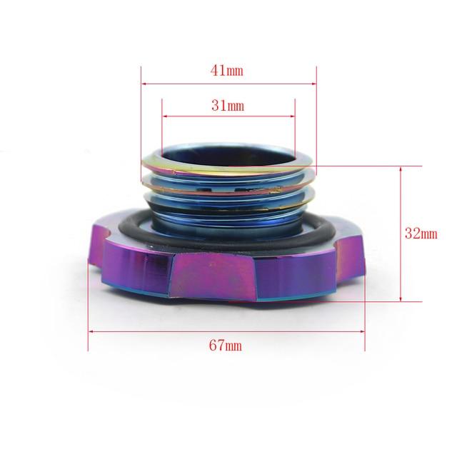 7 Kleuren Beschikbaar Aluminium Olievuldop Voor Subaru Wrx Sti Gc Gd Gf Gm Gg Ge Tank covers Auto Vervangende Onderdelen