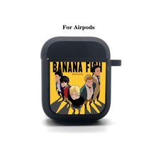 Anime Banana Fish Cartoon Airpods Case Protective Headset Cover Bluetooth Headphone Earphone Soft Silicone Case