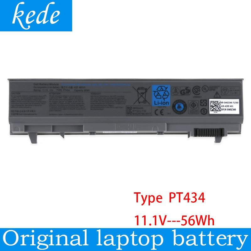 Kede Оригинальный Новый Сменный аккумулятор для ноутбука dell Latitude E6400 E6410 E6500 E6510 M4400 M6400 PT434 PT436 PT437 KY265 KY266