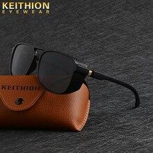 KEITHION Men Steampunk Goggles Sunglasses Women Retro Shades Fashion Side Shields Style Square Sun glasses UV400