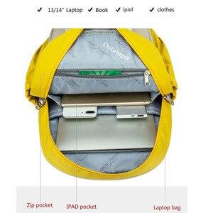 Image 5 - 소녀를위한 새로운 주니어 학교 가방 배낭 학생 어린이 가방 간결한 방수 캠퍼스 배낭 Plecak Szkolny Mochila Ruedas