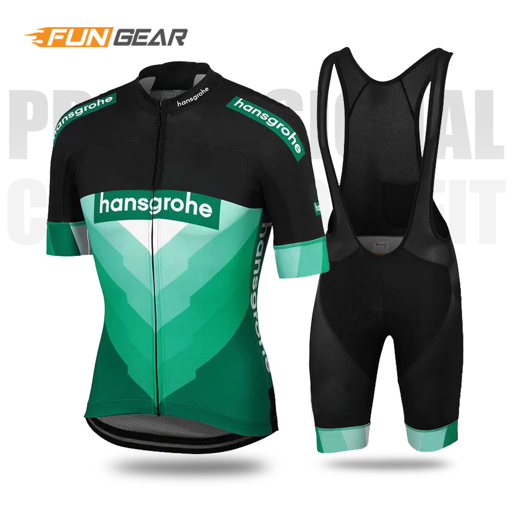 Cycling Set 2019 Boraing Bicycle pro team Jersey Triathlon MTB Clothes Bike Uniforme Ropa Ciclismo Hombre Men short sleeve Kit