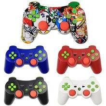 Bezprzewodowy Gamepad Bluetooth dla kontrolera PS3 Joystick dla Sony Playstation 3 PC Controle