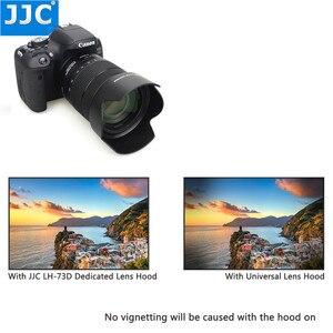Image 5 - JJC Lens Hood for Canon EF S 18 135mm f/3.5 5.6 is USM, RF 24 104mm F4 L IS USM Lens on Canon EOS R6 80D 77D 60D Replaces EW 73D