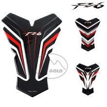 For Yamaha FZ6 FZ6S FZ6N FZ6 Fazer tank 3D tank pad protector for motorcycle stickers