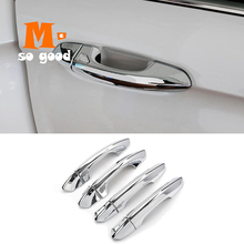 Trim Car-Styling-Accessories Abs Chrome Ford-Edge Cover Decoration Car-Door-Handle 8pcs