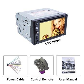 6.2-inch RK-6620B 2DIN Car Multimedia Player Steering Wheel Control FM Radio wireless Hands-free Calls Car Media Player