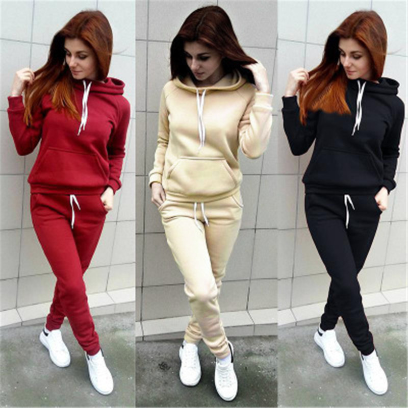Yvlvol Pink Women Two Piece Set For Autumn Spring Tracksuit Women Set Streetwear 2019