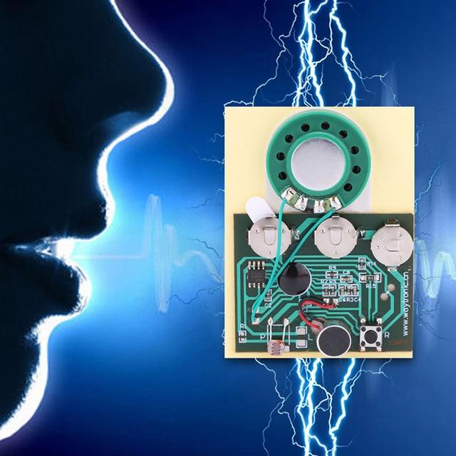 Звуковая записываемая музыкальная доска 30s, программируемый музыкальный модуль с чипом для поздравительной открытки, «сделай сам»