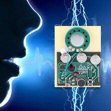 Módulo de placa grabadora de música 30s, módulo de música programable para tarjeta de felicitación DIY