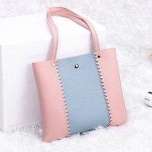 купить 2019 New Women's Lychee Shoulder Bag Color Casual Wild Shoulder Bag High Quality PU Leather Shoulder Bag по цене 324.35 рублей