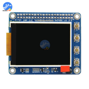 """Image 3 - פטל Pi 2 3 3B/2B/B + 2.2 """"TFT מסך LCD תצוגת כובע עם כפתורים IR חיישן"""