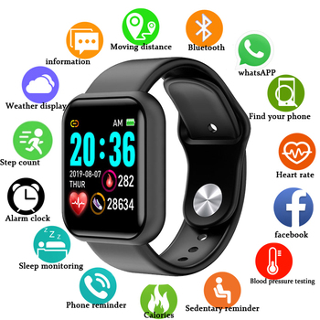 цена на 2020 Smart Watch Men women Smartwatch Fitness Tracker IP67 Waterproof Smart Band Heart Rate Monitor Pedometer Smart Wrist Watch