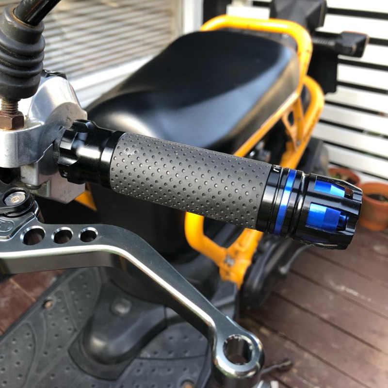 Manopole compatibili con Suzuki DR 350 DR 650 DR 500 DR 400 DR 600 stripe//blu 800