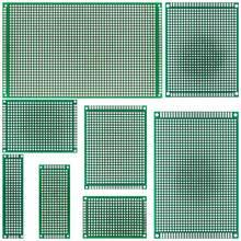 9x15 8x12 7x9 6x8 5x7 4x6 3x7 2x8 cm çift yan prototip Diy evrensel baskılı devre PCB kartı protokolü Arduino için