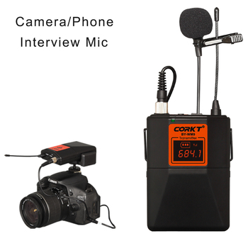 professional wireless recording microphone  for SLR cameras and camcorders and phones Interview Video Recording UHF lapel mic kamerar 3 2 16 9 lcd viewfinder for video cameras slr cameras black red