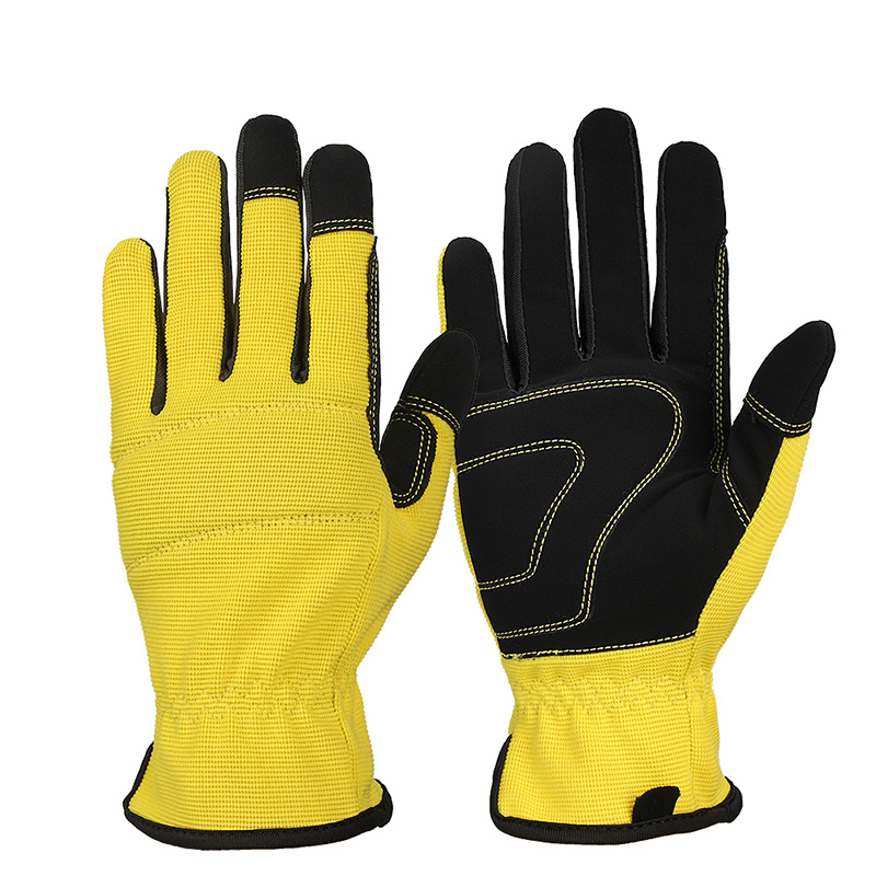 Mechanical Running <font><b>Gloves</b></font> Sports Outdoor Deerskin <font><b>Leather</b></font> Moto Racing Cycling <font><b>Bike</b></font> <font><b>Gloves</b></font> For <font><b>Men</b></font> Women image
