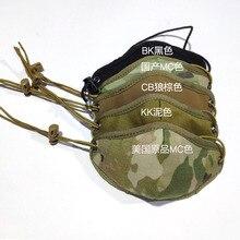Multicam Mask Cordura Protective-Gear Half-Face-Mask Frabric KIDS Children CS