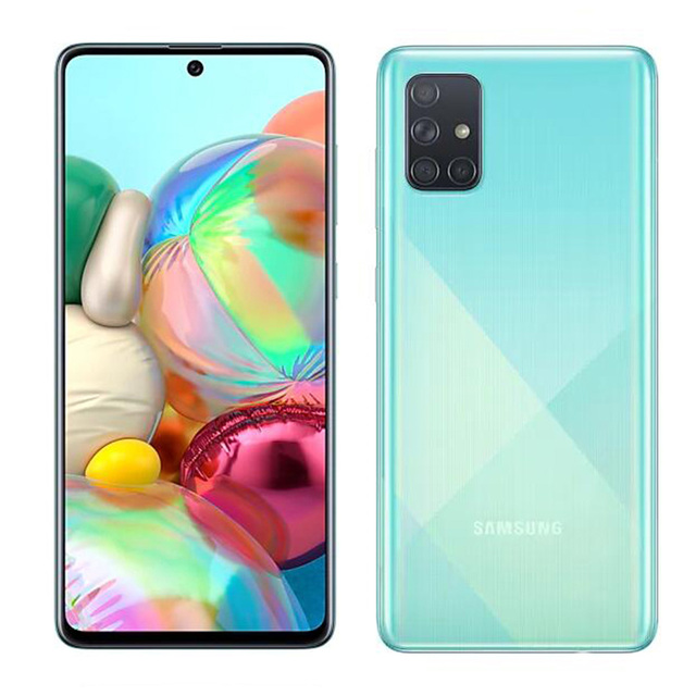 "Global Version Samsung Galaxy A71 A715F/DS 8GB 128GB Mobile Phone Snapdragon 730 6.7"" Quad Camera 64MP 32MP 4500mAh 4G Smartphon 5"