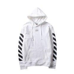 2017 Осень и зима новый стиль мужчины и женщины-длинный рукав пуловер с капюшоном Мода хип-хоп английский стиль с надписью