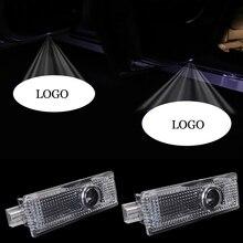 2X Car Door Light Shadow For BMW M Logo Projector Welcome E90 E60 E84 F01 F12 F10 GT F07 F05 E63 E65 X1 X3 M3 M5