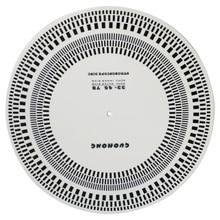 Mat Tachometer Alignment-Tools Turntable Acrylic Phono-Detection Lp Vinyl Protractor