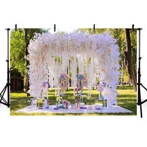 Image 3 - Avezano Photography Background Wedding Engagement Flower Curtain Location Backdrop Photocall Photo Studio Photozone Decor Props