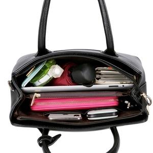 Image 5 - 2019 New Fashion Bag Womens Genuine Leather Luxury Handbags Women Bags Designer Female Shoulder Bag Purse Bolso Mujer