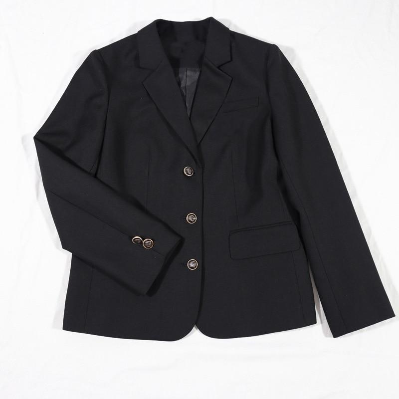 Women Blazer Jacket Suit JK High School Uniform Students Girl Preppy Style Loose Outwear Coat Clothes