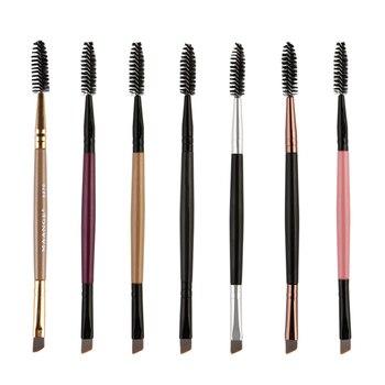 1 Pcs Eyelash Eyebrow Brush Double Head Brush Eyelash Eyebrow Cosmetics Beauty Tools Makeup Brush Eyebrow Brushes Accessories