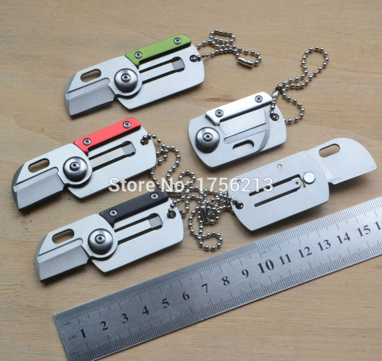 Small Folding Knife EDC Tools Stainless Steel Camping Folded Pocket Knife for Travel and Survival(China)