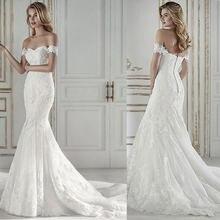 Новинка 2020 свадебное платье облегающее с хвостом русалки одним