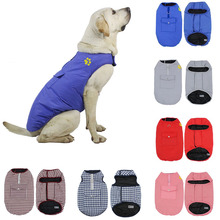 Harness Double-Sided Vest Pets Chests Dog-Paw-Print Dogs Waterproof Fashion for Warm